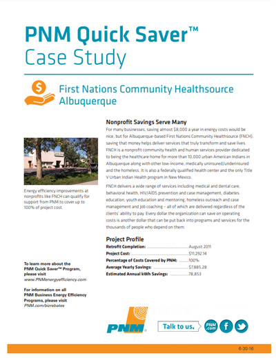 First Nations Community Healthsource Case Study