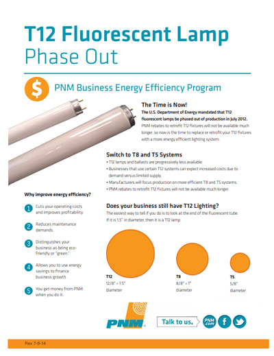 T12 Phase Out Fact Sheet